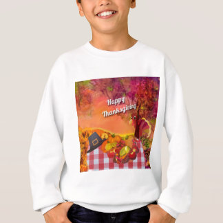 Why is the turkey hiding sweatshirt