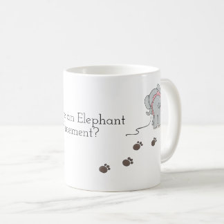 Why is there an Elephant in my Basement mug