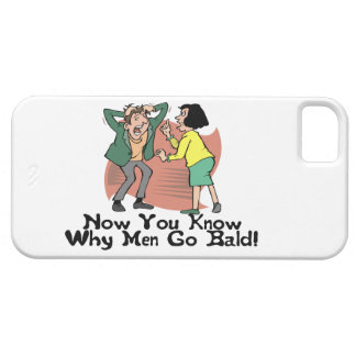 Why Men Go Bald Case For The iPhone 5