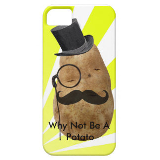Why Not Be A Potato Barely There iPhone 5 Case