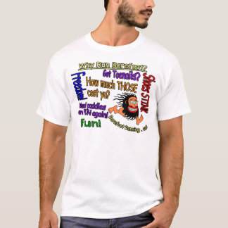 Why Run Barefoot? T-Shirt