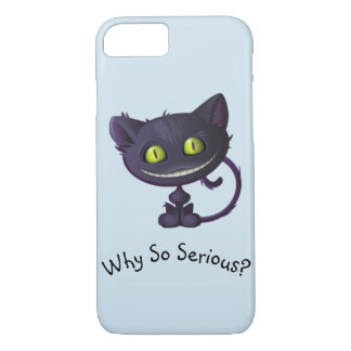 Why So Serious Cat Phone Case