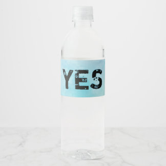 Why stand ye gazing up into heaven water bottle label