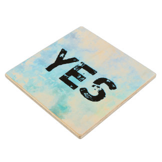 Why stand ye gazing up into heaven wood coaster
