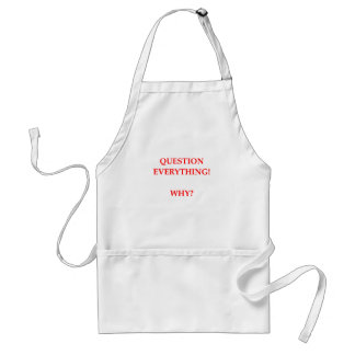 WHY STANDARD APRON