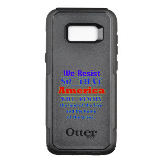 Why We Resist. For Amerca OtterBox Commuter Samsung Galaxy S8+ Case
