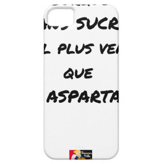 WHY WITHOUT SUGAR IT IS MORE SALESMAN THAT WITH BARELY THERE iPhone 5 CASE