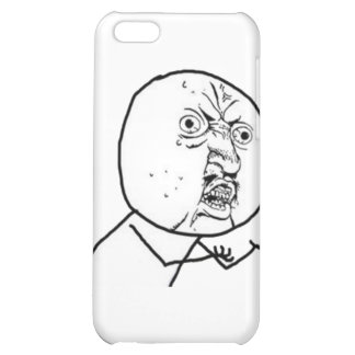Why You No Guy (no text) Case For iPhone 5C
