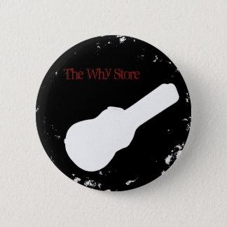 whystorecircle 6 cm round badge