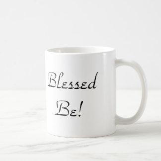 Wicca Blessed Be Pentacle Tree Coffee Mug
