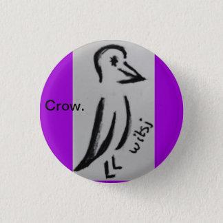 wicca kids 3 cm round badge