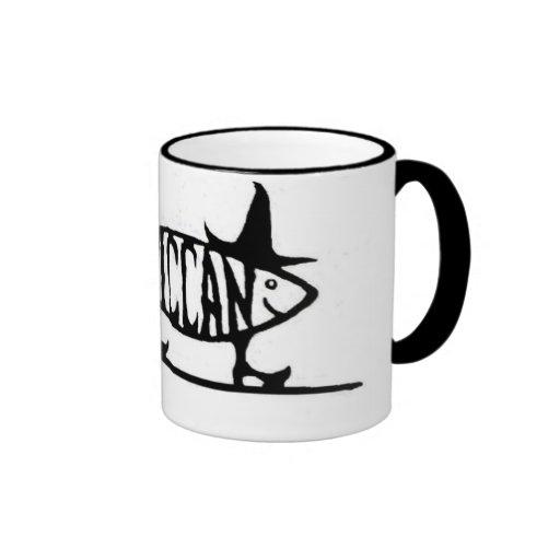 Wiccan Fish Coffee Mugs