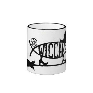 Wiccan Fish Ringer Mug