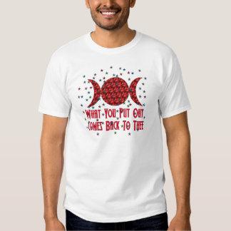 Wiccan Karma T Shirt