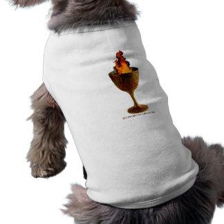 Wiccan Life Chalice Sleeveless Dog Shirt