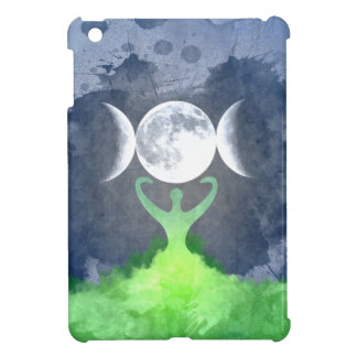 Wiccan Mother Earth Goddess Moon iPad Mini Case