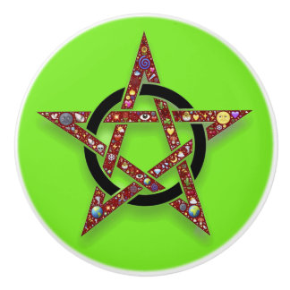 Wiccan or Pagan Star Knob