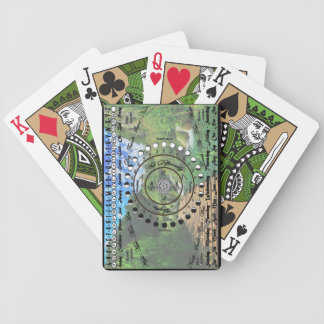 Wiccan Pagan Pendulum Chart Bicycle Playing Cards