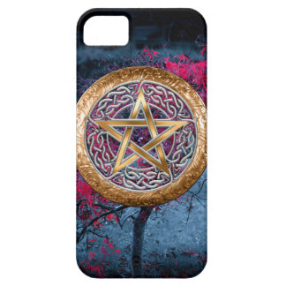 Wiccan Pagan Pentagram Alter Cloth iPhone 5 Case