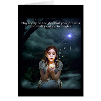 Wiccan Spirituality Greeting Card