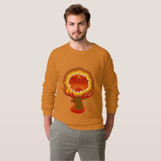 Wiccan Sun God Men's Raglan Sweatshirt