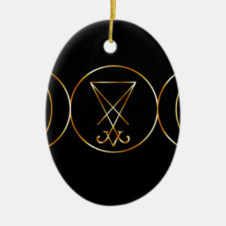 Wiccan symbol, Triple Goddess Ceramic Ornament