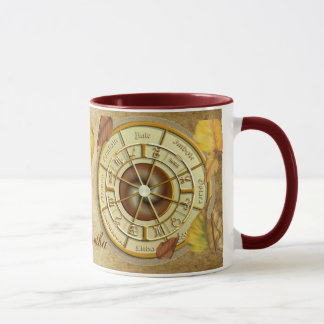 Wiccan Wheel of the Year Personalised Mug