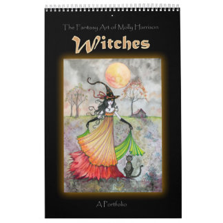 Wiccan Witch Portfolio Book by Molly Harrison Calendars
