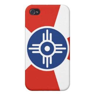 Wichita Flag iPhone 4/4S Cover
