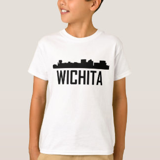 Wichita Kansas City Skyline T-Shirt