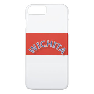 Wichita Red and White iPhone 7 Plus Case