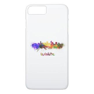 Wichita skyline in watercolor iPhone 8 plus/7 plus case