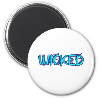 WICKED 6 CM ROUND MAGNET