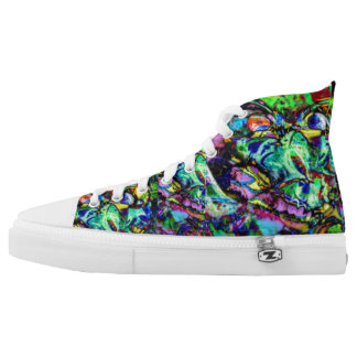Wicked Alien Shoes Printed Shoes