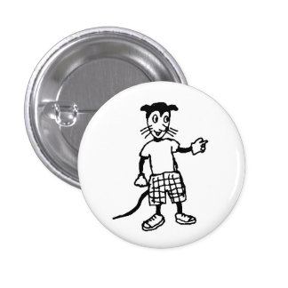 Wicked animal button