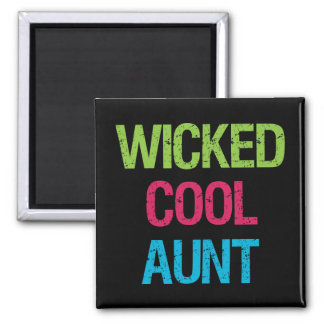 Wicked Cool Aunt Magnet