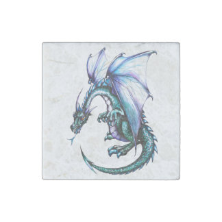 Wicked Cool Dragon Marble Magnet