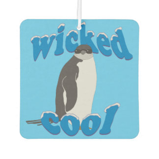 Wicked Cool Penguin Car Air Freshener