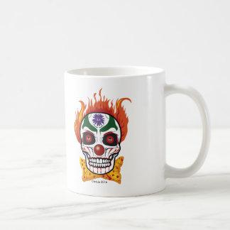 Wicked Evil Clown Skull Gift Mug