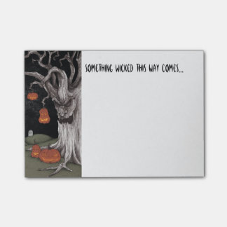 Wicked Forest Post-it Notes