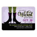 Wicked Good Halloween Costume Party 13 Cm X 18 Cm Invitation Card