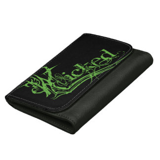 Wicked Green Leather Wallet