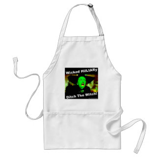 Wicked Hillary Ditch The Witch Standard Apron
