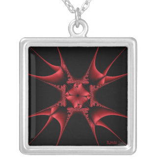 Wicked lookin' throwing star Necklace