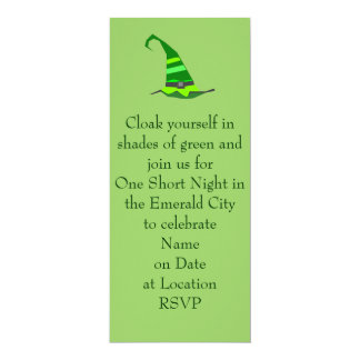 Wicked Party invitation