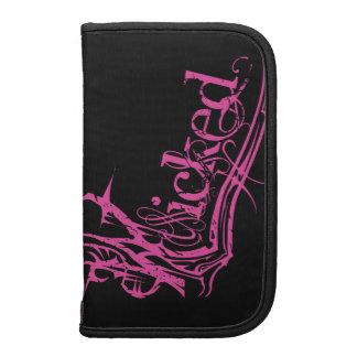 Wicked Pink Smartphone Folios Organizers