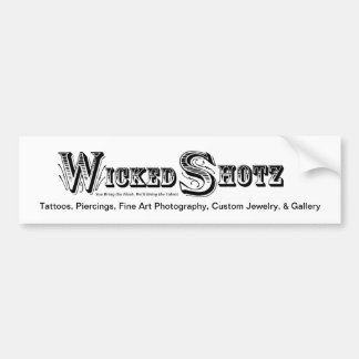 Wicked Shotz Bumper1 Bumper Sticker