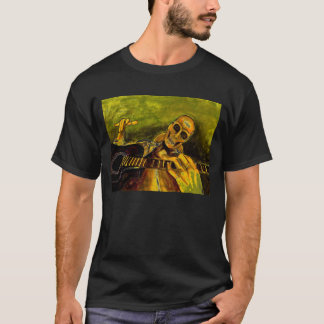wicked skeleton guitar player T-Shirt