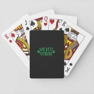 Wicked Sobah, Playing Cards