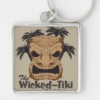 Wicked Tiki Bar Keychain
